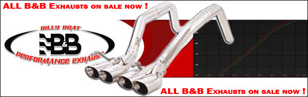 Billy Boat Exhausts on Sale