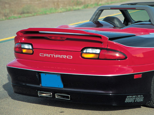 Rksport 01011038 Roadster Wing Camaro V8 V6 1993 2002