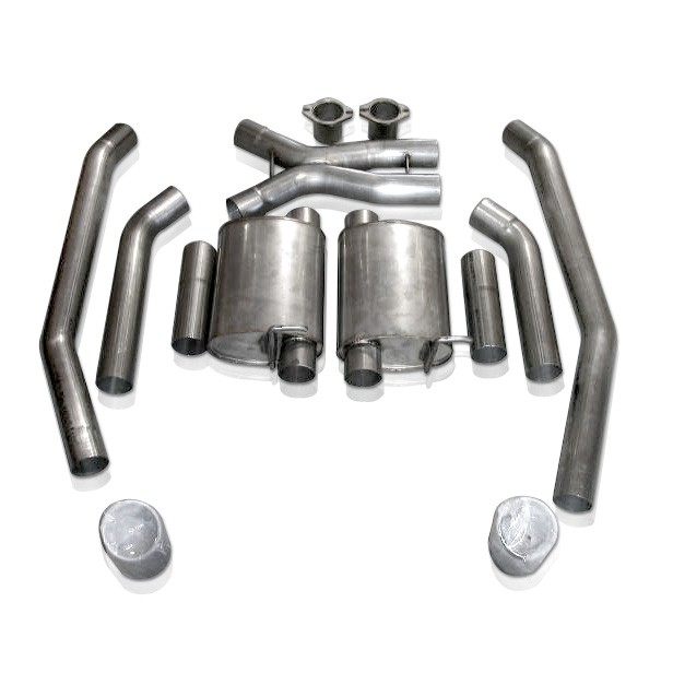 Stainless Works 05GTOCTMCB - Stainless Works 2005 - 2006 Pontiac GTO LS2 Catback Exhaust 3