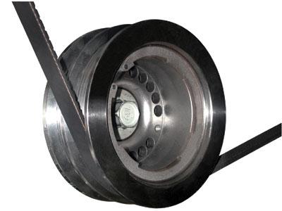 SLP Performance Parts 100226 - SLP Harmonic Balancer / Underdrive Pulley, 2004-06 GTO w/Bolt