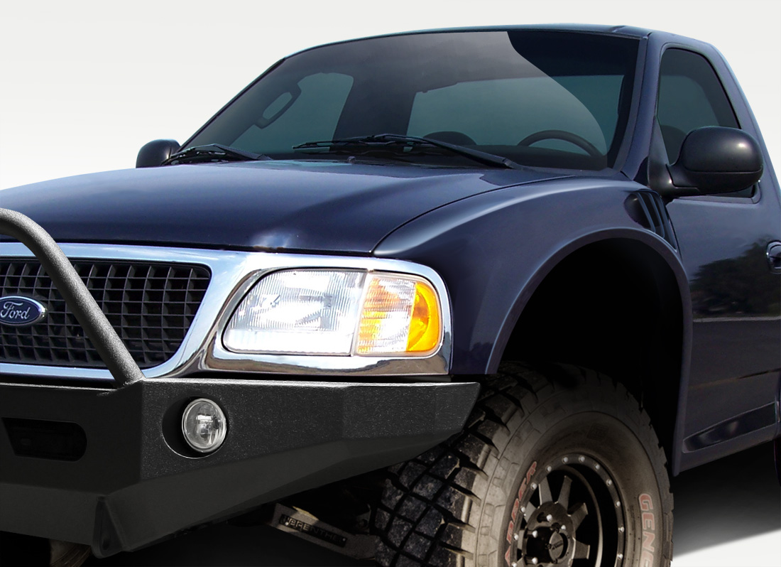 Duraflex  Ford F  Expedition Duraflex Off Road   Inch Bulge Front Fenders