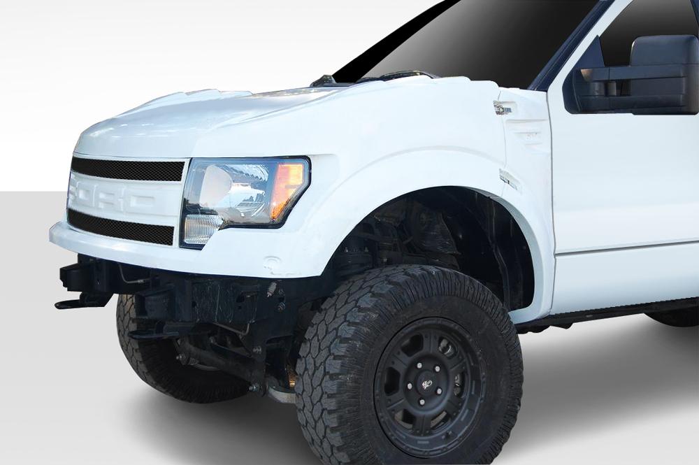 Duraflex  Ford F  Duraflex Off Road Raptor Trophy Truck Front End Conversion