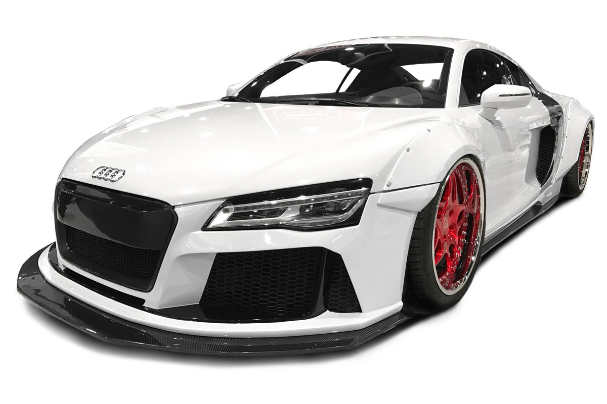 Function 113312 | Audi R8 AF Signature Series Wide Body Kit ( GFK ...