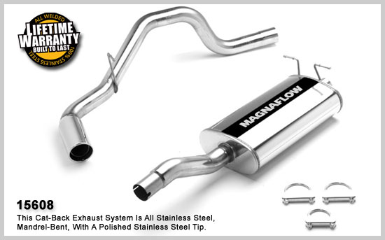 Magnaflow 15608 - Magnaflow Exhaust System for FORD EXPEDITION/LINCOLN NAVIGATOR 1997-2000