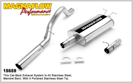 Magnaflow 15659 - Magnaflow Exhaust System for DODGE DURANGO 2000-2003