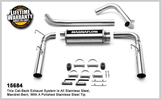 magnaflow 15684  exhaust system for camaro 1998