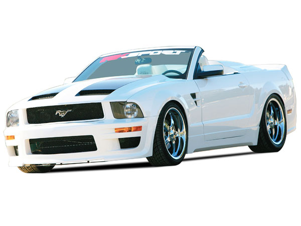 RKSport 18013000 - RKSport Mustang California Dream Ground Effects Package 2005-2009 V8
