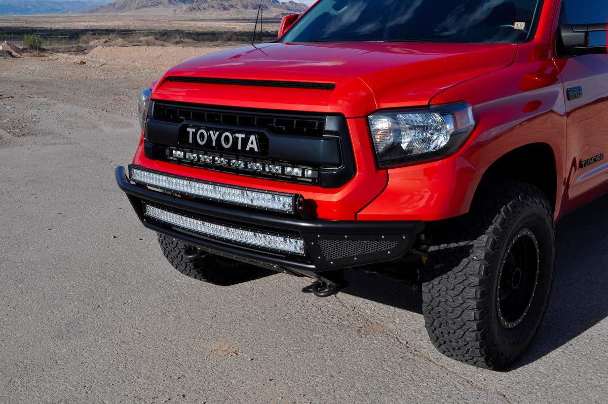 Dodge Performance Parts >> Rogue Racing 221514-91-05-MS | Toyota Tundra Throttle Front Bumper Mesh Skins, Satin Black ...
