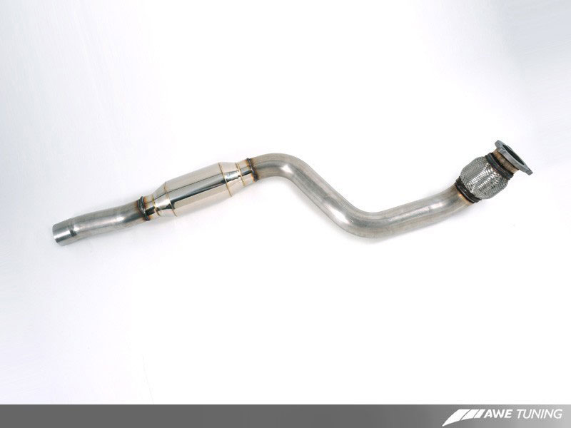 2009-2013 Audi A4 A5 Quattro 2.0T Front Flex Exhaust Pipe Muffler fits