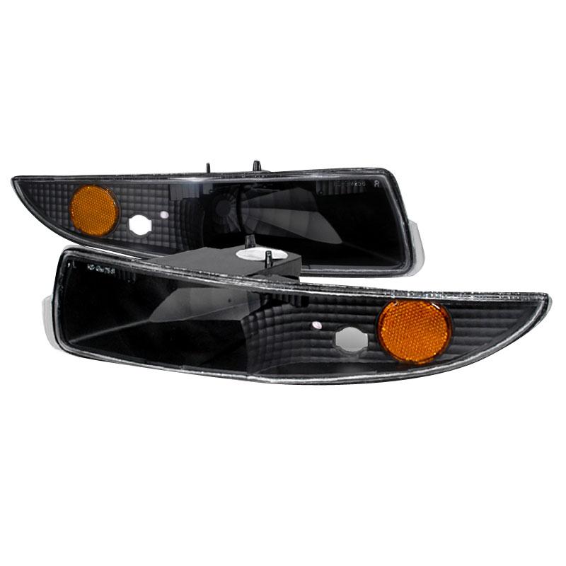 Spec-D Tuning 2LB-CMR93JM-KS - Spec-D 93-02 Camaro Bumper Lights - Blk (2lb-cmr93jm-ks) V8 / V6