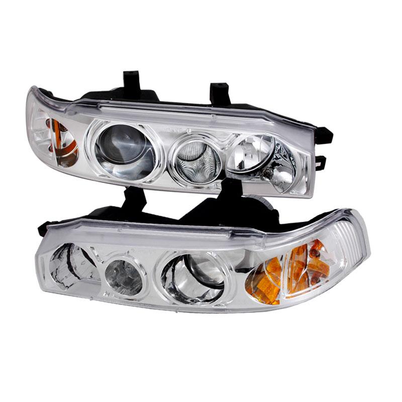 Spec-D Tuning 2LHP-ACD90-KS - Spec-D 90-93 Honda Accord Projector Headlights