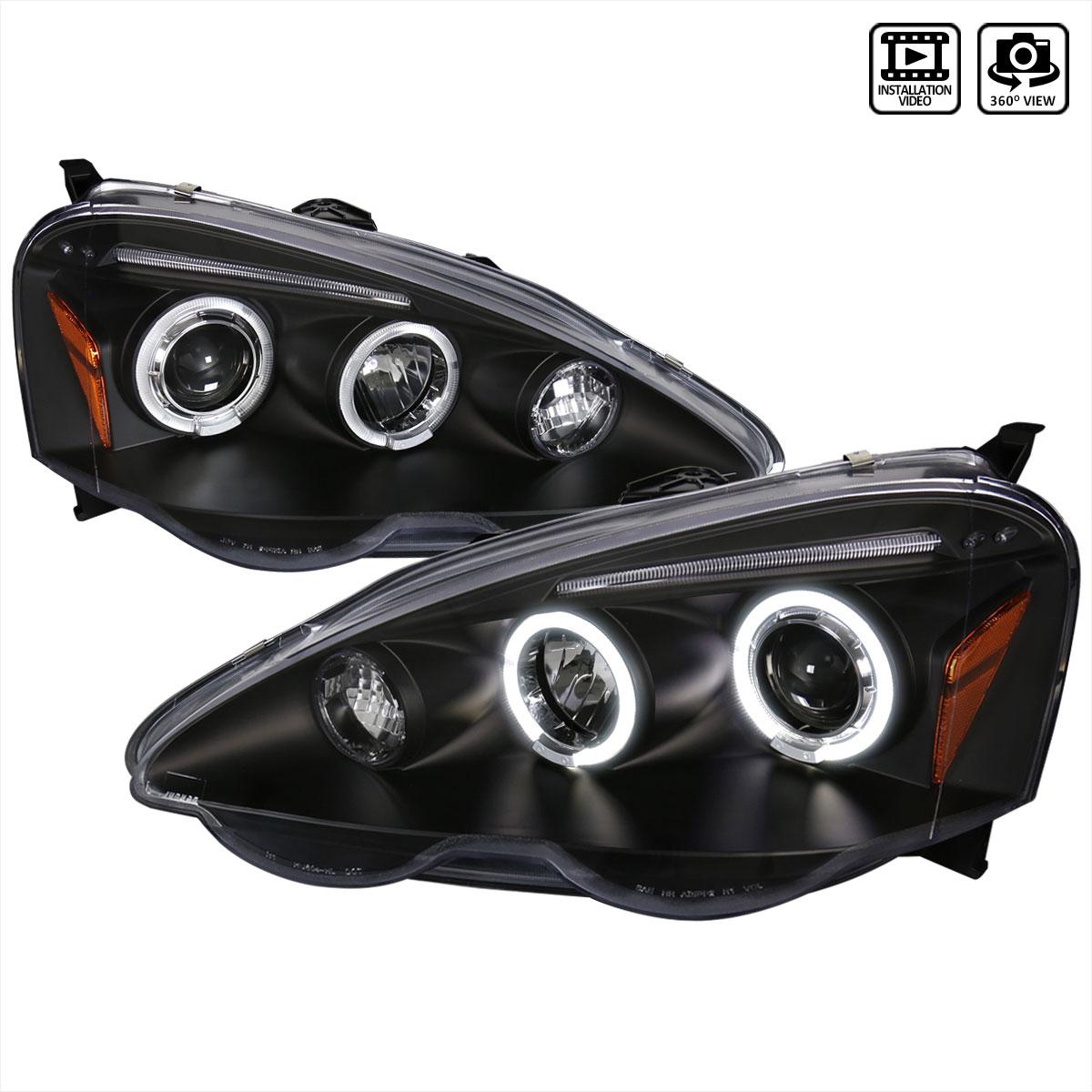 SpecD Tuning LHPRSXJMTM SpecD Acura Rsx Projector - Acura rsx headlights