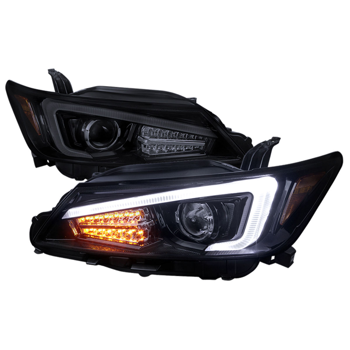Led lights for projector headlights
