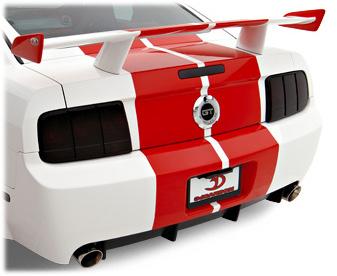 3dCarbon 691016 - 3dCarbon Mustang Boy-Racer Wing 2005-2009 V8