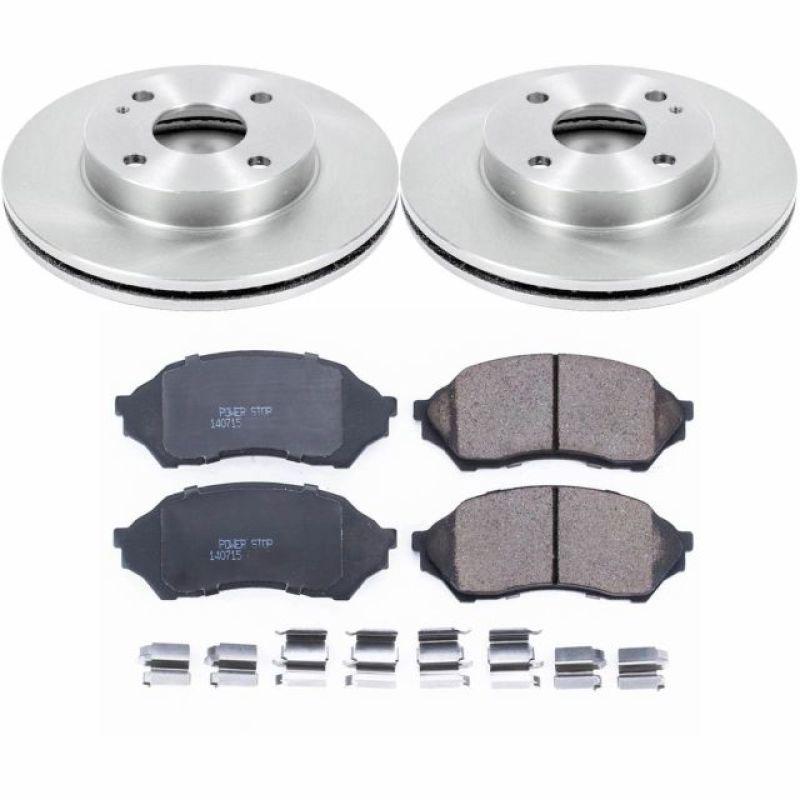 Front Brake Rotors And Ceramic Brake Pads Kit For Mazda 626 Mazdaspeed Protege