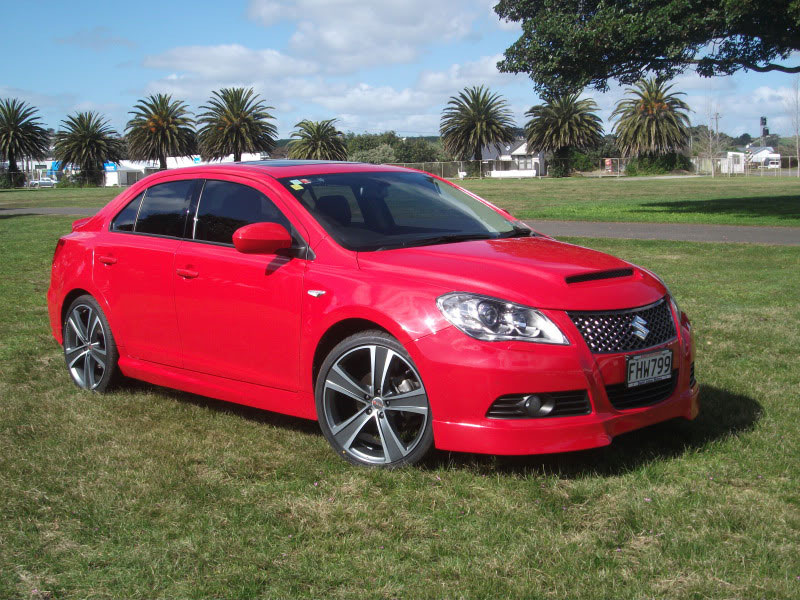 Where Are The Suzuki Kizashi Made