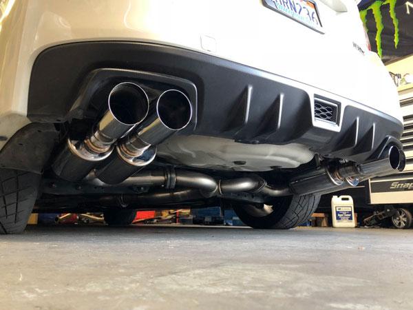 MXP mxcrva   2017+ Subaru WRX/STI SUS401 Comp RS Exhaust System w/Quad Tips; 2017-2021