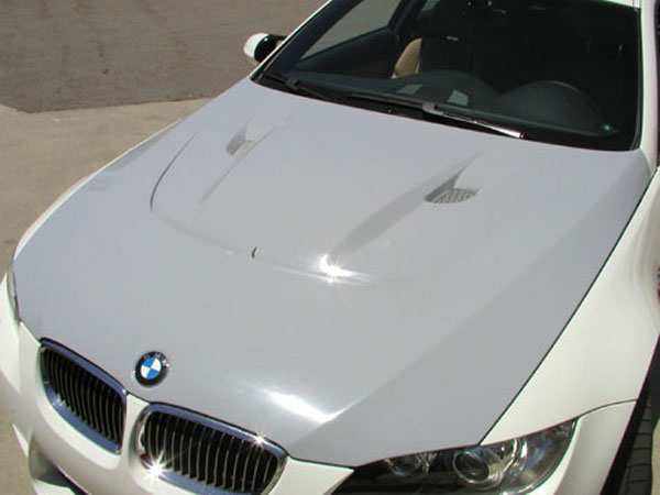 RKSport 0029   BMW M3 Fiberglass Extractor Hood; 2008-2013
