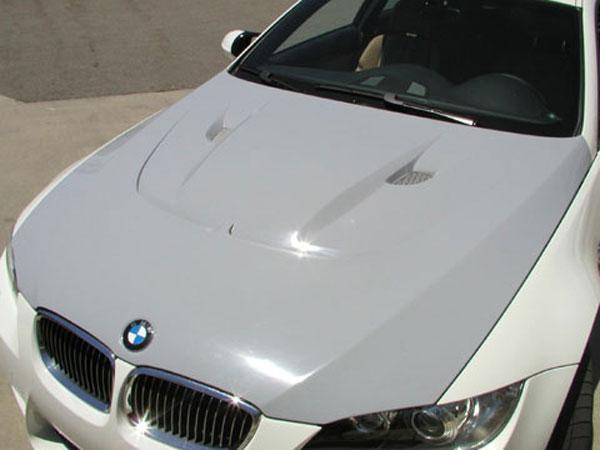 RKSport 0030 |  BMW M3 Carbon Fiber Extractor Hood; 2008-2013