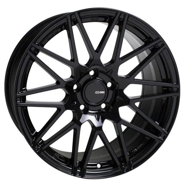 Enkei 515-790-6540bk | TMS 17x9 5x114.3 40mm Offset 72.6mm Bore Gloss Black Wheel