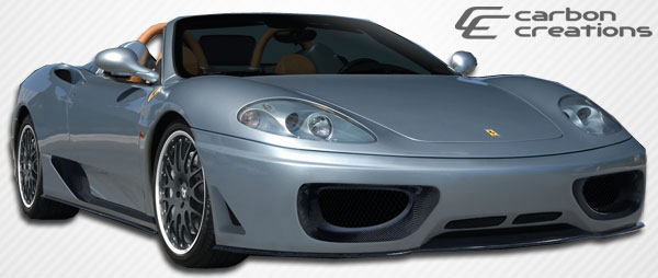 Carbon Creations 105479: 2000-2004 Ferrari 360 Modena Carbon Creations F-1 Spec Body Kit - 5 Piece