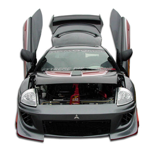 Extreme Dimensions 102600: 2000-2005 Mitsubishi Eclipse Polyurethane Blits Front Bumper Cover - 1 Piece