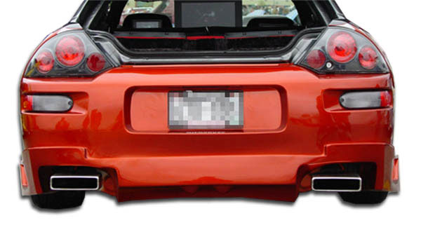 Extreme Dimensions 102601:  2000-2005 Mitsubishi Eclipse Polyurethane Blits Rear Bumper Cover - 1 Piece