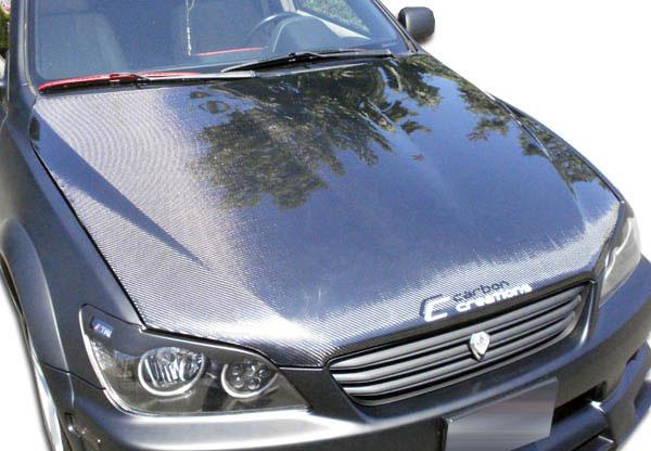 Carbon Creations 100083 | 2000-2005 Lexus IS Series IS300 Carbon Creations OEM Hood - 1 Piece