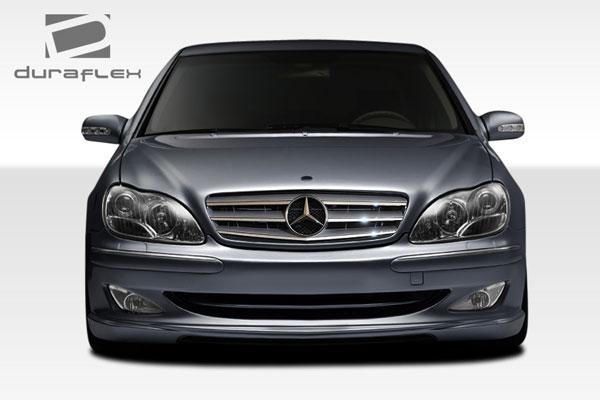 Duraflex 107719 | Mercedes S Class W220 Duraflex W-2 Front Bumper Cover 1-Piece; 2000-2002