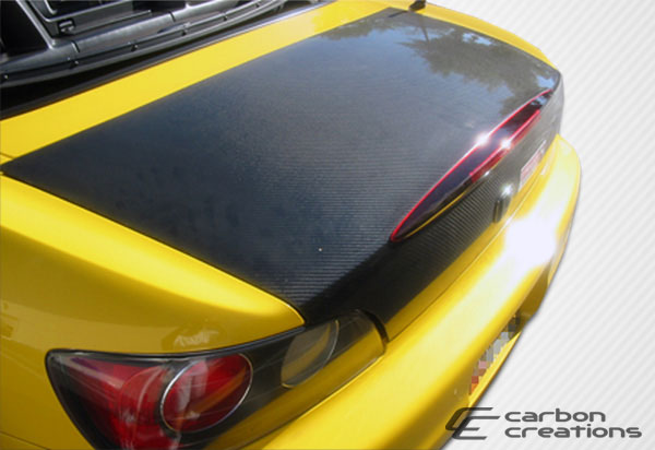 Carbon Creations 102879 | Honda S2000 Carbon Creations OEM Trunk 1-Piece; 2000-2009