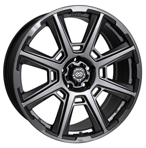 Enkei 525-880-5140ap   Storm 18x8 40mm Offset 5x110 72.6mm Bore Anthracite Wheel