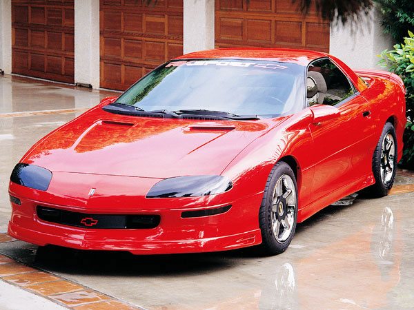 RKSport 01013060:  93-97 Camaro 300 Ground Effects With Center Exit Rear Facia V8 / V6