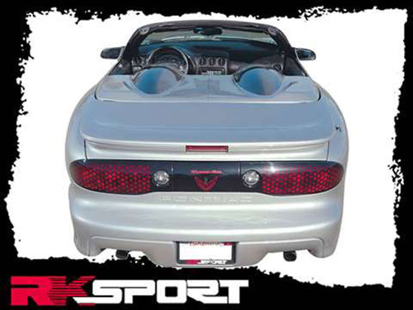 RKSport 01017005 | Convertible Tonneau Covers for Firebird V8 / V6; 1993-2002
