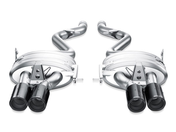 Akrapovic M-BM/T/3H-C |  BMW M3 (E92, E93) Slip-On Line (Titanium) w/ Carbon Tips; 2007-2013