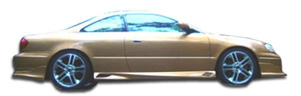 Duraflex 100216 | Acura CL Duraflex Cyber Side Skirts Rocker Panels 2-Piece; 2001-2003