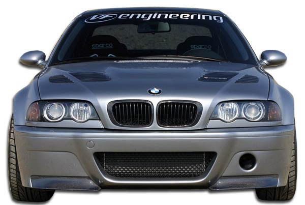 Carbon Creations 105346   BMW M3 E46 Convertible 2DR Carbon Creations CSL Look Front Bumper Cover 1-Piece; 2001-2006