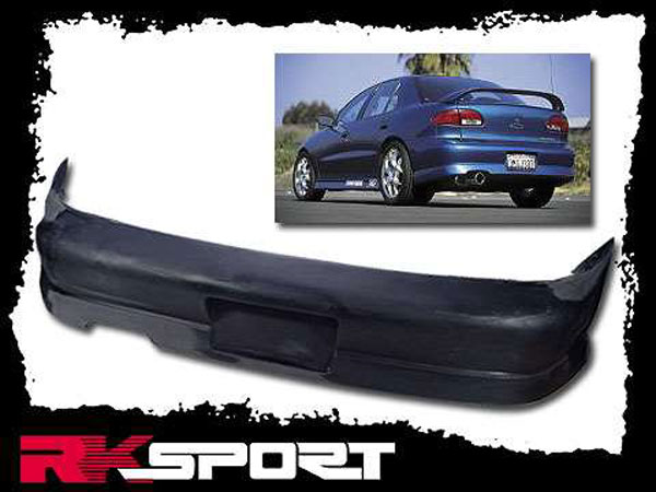 RKSport 02015002:  Cavalier Rear Bumper Cover for Single Exhaust 95-99