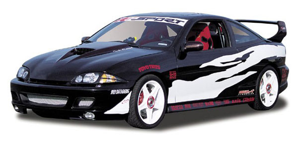 RKSport 02015020:  00-02 Cavalier 2 door Ground Effects Kit