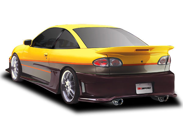 RKSport 02018002:  95-02 Type-J Rear Bumper