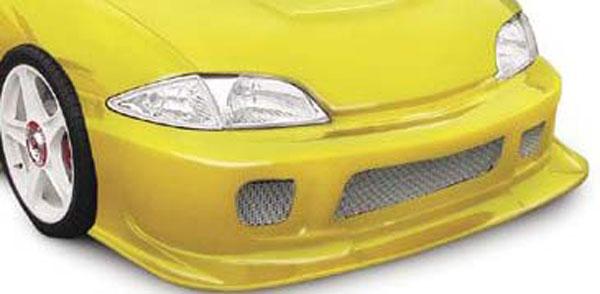 RKSport 02018007 | Type-J Front Grille Mesh; 1995-2002