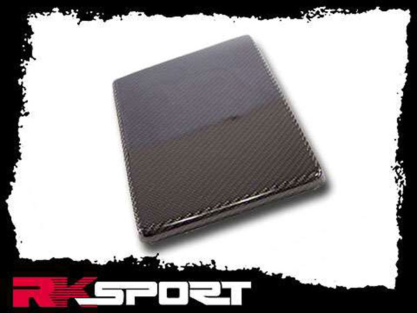 RKSport 02021356 | Cavalier Battery Cover - Carbon Fiber; 1995-2005