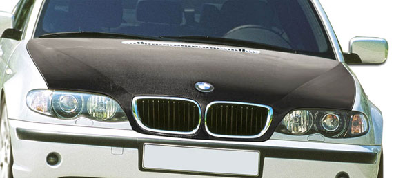 Carbon Creations 106156 | BMW 3 Series E46 4DR Carbon Creations OEM Hood 1-Piece; 2002-2005