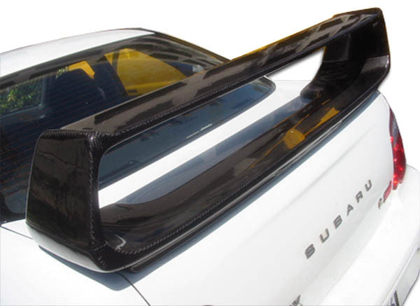 Carbon Creations 102938   2002-2007 Subaru Impreza WRX STI 4DR Carbon Creations STI Look Wing Trunk Lid Spoiler - 1 Piece