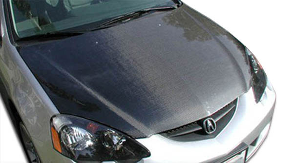 Carbon Creations 100384 | Acura RSX Carbon Creations OEM Hood 1-Piece; 2002-2006