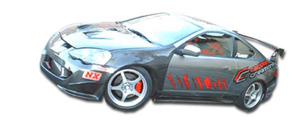 Duraflex 100311 | Acura RSX Duraflex Type M Side Skirts Rocker Panels 2-Piece; 2002-2006
