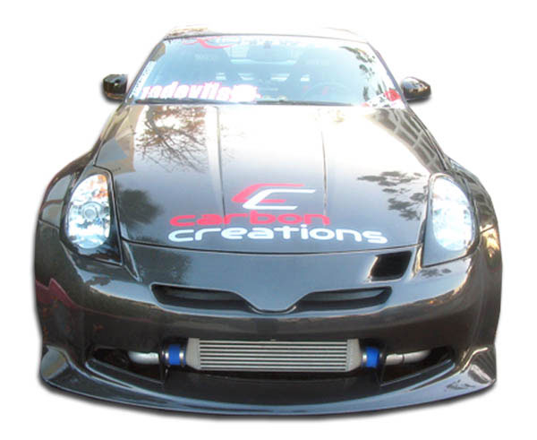 Carbon Creations 102799: 2003-2008 Nissan 350Z Carbon Creations C-2 Front Bumper Cover - 1 Piece