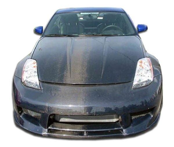 Carbon Creations 102800: 2003-2008 Nissan 350Z Carbon Creations Drifter 2 Front Bumper Cover - 1 Piece