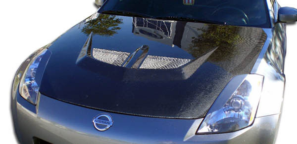 Carbon Creations 104188 | 2003-2006 Nissan 350Z Carbon Creations Evo Hood - 1 Piece