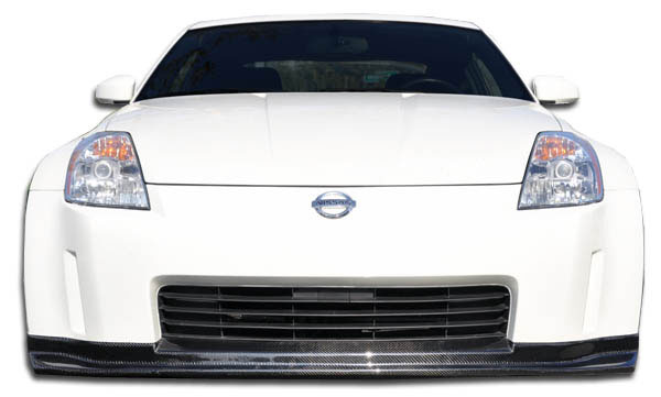 Carbon Creations 104221: 2003-2005 Nissan 350Z Carbon Creations N-1 Front Lip Under Spoiler Air Dam - 1 Piece