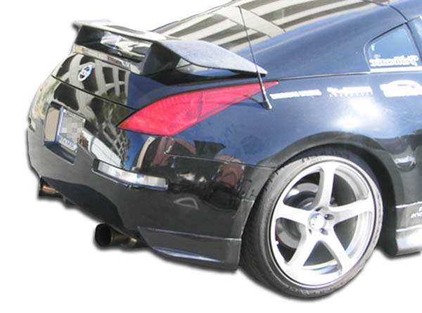 Carbon Creations 102793: 2003-2008 Nissan 350Z Carbon Creations N-1 Rear Add On Bumper Extensions - 2 Piece
